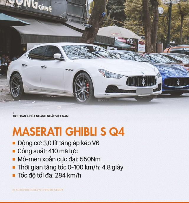 Đây chính là 10 sedan 4 cửa nhanh nhất tại Việt Nam - Ảnh 10.