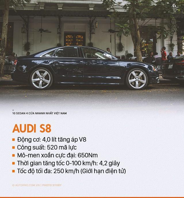 Đây chính là 10 sedan 4 cửa nhanh nhất tại Việt Nam - Ảnh 5.