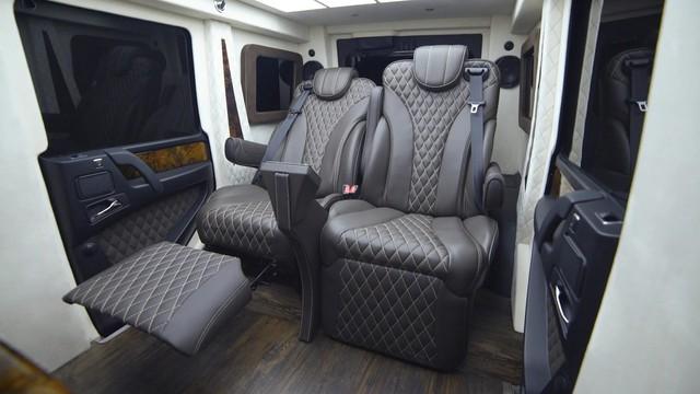 Mercedes-AMG G63 Inkas - SUV limousine siêu dài, siêu sang, chống đạn với giá triệu USD - Ảnh 2.
