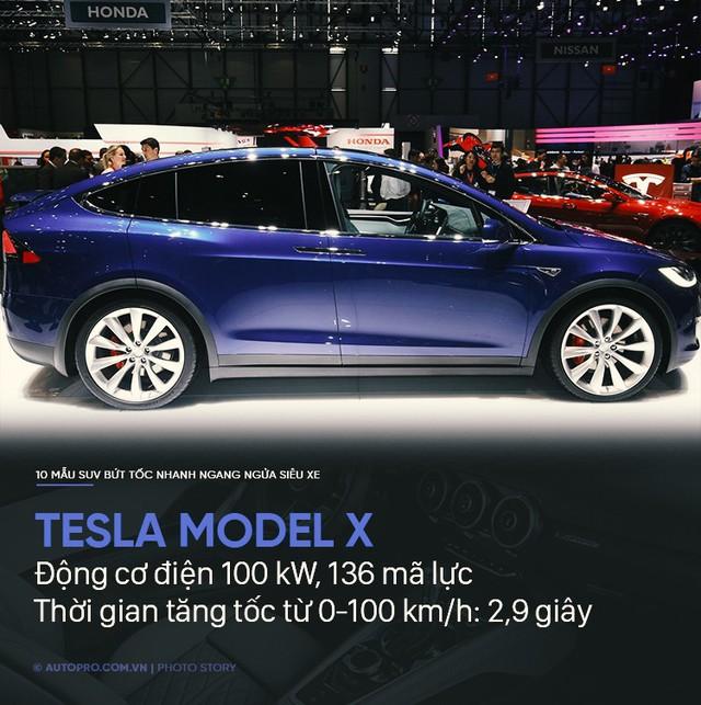 Không cần siêu xe, 10 SUV này cũng tăng tốc trong chớp mắt - Ảnh 10.