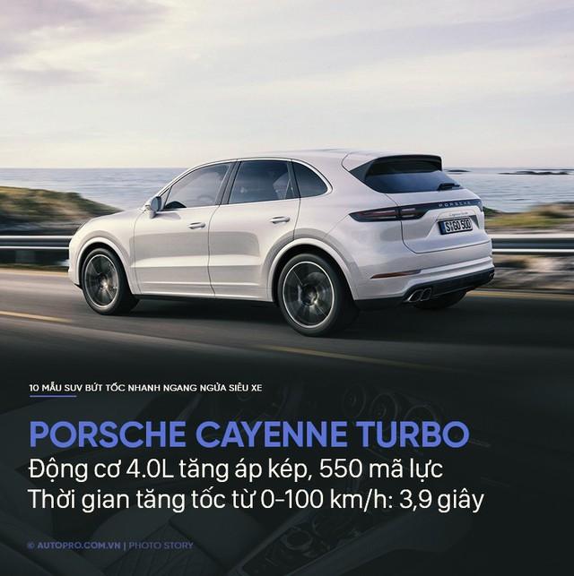 Không cần siêu xe, 10 SUV này cũng tăng tốc trong chớp mắt - Ảnh 5.