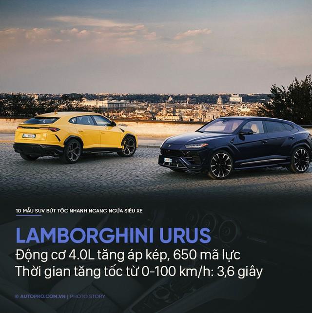 Không cần siêu xe, 10 SUV này cũng tăng tốc trong chớp mắt - Ảnh 8.
