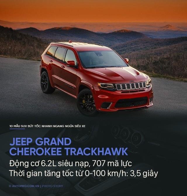 Không cần siêu xe, 10 SUV này cũng tăng tốc trong chớp mắt - Ảnh 9.