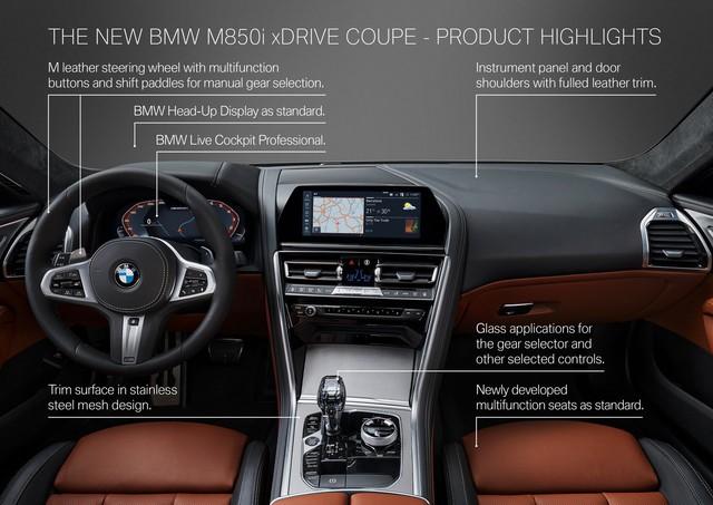 Những điểm đã biết về xe chủ lực BMW 8-Series Gran Coupe - Ảnh 4.