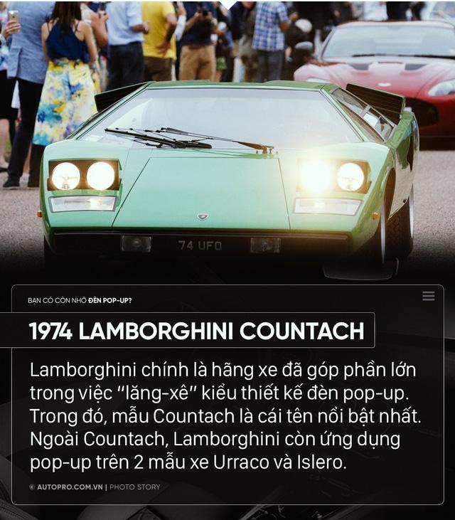 Ferrari, Lamborghini hay Porsche từng có loạt xe dùng đèn pop up gây nghiện như thế này đây - Ảnh 4.