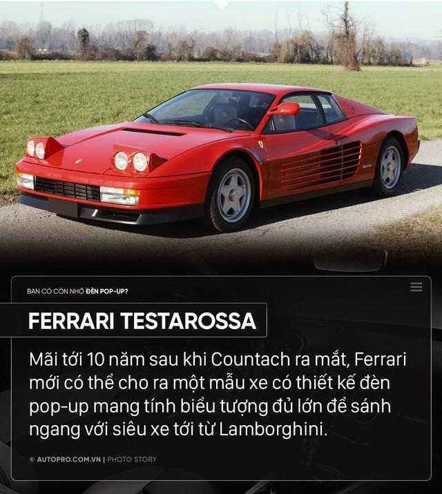 Ferrari, Lamborghini hay Porsche từng có loạt xe dùng đèn pop up gây nghiện như thế này đây - Ảnh 7.