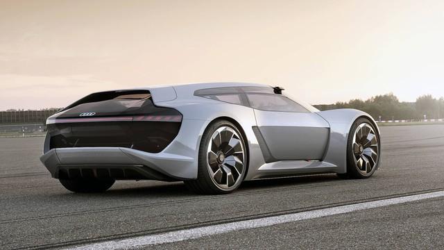 Audi PB18 Concept - Xe 3 trong 1: xe đua, hatchback hiệu suất cao và... mô tô phân khối lớn - Ảnh 3.