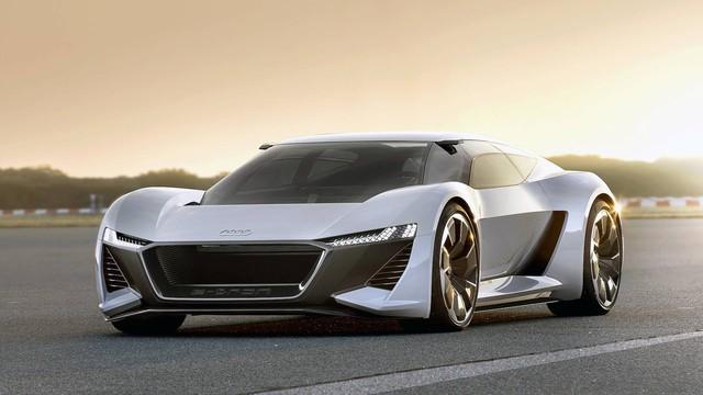 Audi PB18 Concept - Xe 3 trong 1: xe đua, hatchback hiệu suất cao và... mô tô phân khối lớn - Ảnh 2.