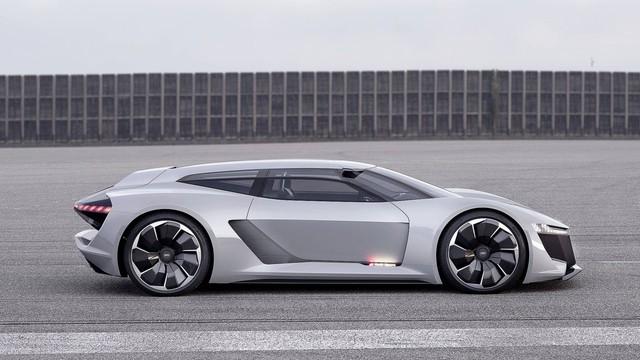 Audi PB18 Concept - Xe 3 trong 1: xe đua, hatchback hiệu suất cao và... mô tô phân khối lớn - Ảnh 1.