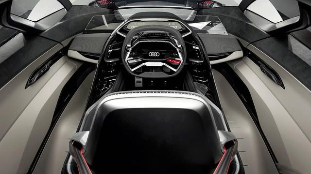 Audi PB18 Concept - Xe 3 trong 1: xe đua, hatchback hiệu suất cao và... mô tô phân khối lớn - Ảnh 4.