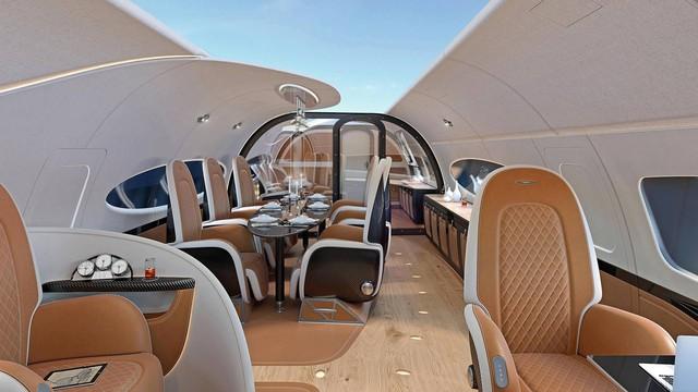 Đây là nội thất máy bay do hãng siêu xe Pagani chế tạo - Ảnh 1.