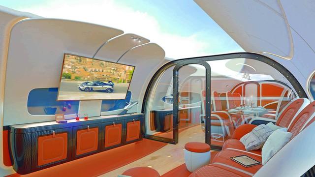 Đây là nội thất máy bay do hãng siêu xe Pagani chế tạo - Ảnh 2.