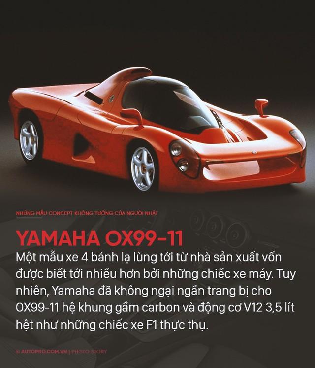 Nếu không làm xe bền bỉ qua năm tháng thì người Nhật sẽ tung ra những concept không ai nghĩ tới như thế này - Ảnh 10.