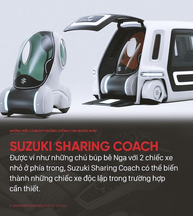 Nếu không làm xe bền bỉ qua năm tháng thì người Nhật sẽ tung ra những concept không ai nghĩ tới như thế này - Ảnh 3.