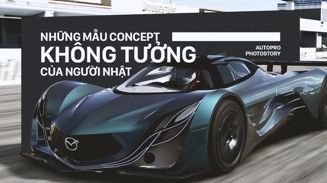 Nếu không làm xe bền bỉ qua năm tháng thì người Nhật sẽ tung ra những concept không ai nghĩ tới như thế này
