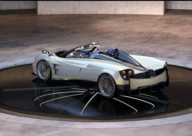 Pagani Huayra Roadster cuối cùng lấy cảm hứng từ loài chim nhanh nhất thế giới - Ảnh 5.
