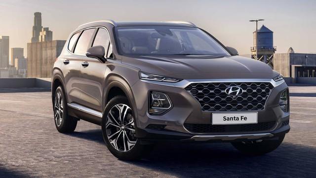 Hyundai Santa Fe 2019: Đổi tên, đổi vận - Ảnh 1.
