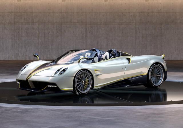 Pagani Huayra Roadster cuối cùng lấy cảm hứng từ loài chim nhanh nhất thế giới - Ảnh 2.