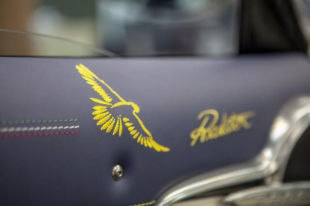 Pagani Huayra Roadster cuối cùng lấy cảm hứng từ loài chim nhanh nhất thế giới - Ảnh 3.