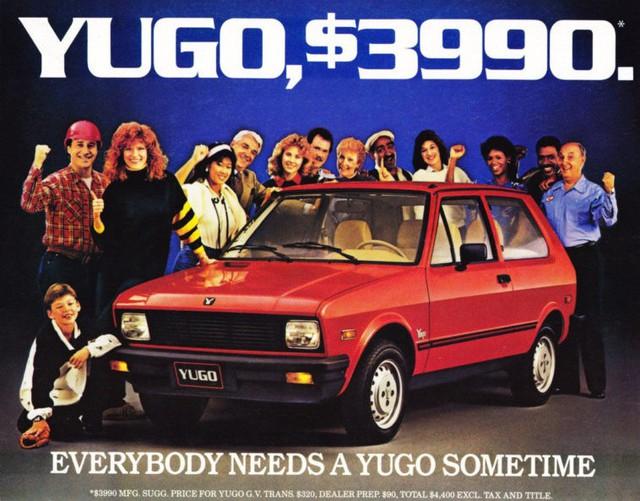 Yugo - Dòng xe nổi tiếng vì... chất lượng bê bát nhất thế giới - Ảnh 2.