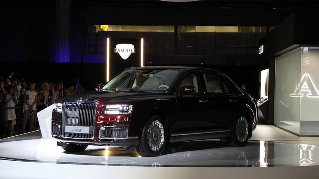 Aurus Senat - Sedan quốc dân hạng sang của Nga trông như Rolls-Royce - Ảnh 2.