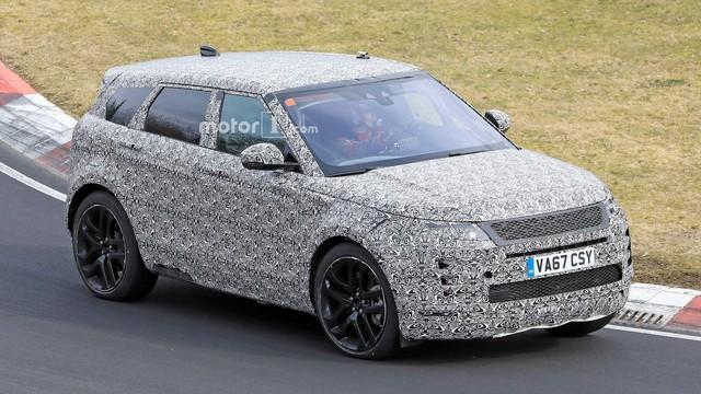 Range Rover Evoque 2019 cận kề ngày ra mắt: Thiết kế gần giống Velar thu nhỏ - Ảnh 1.