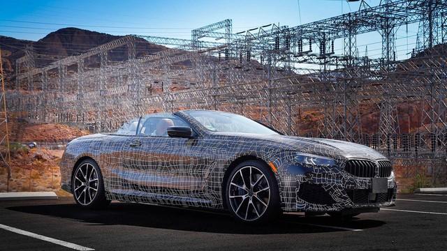 BMW 8-Series mui trần bị thử nghiệm khắc nghiệt ở thung lũng tử thần như thế nào? - Ảnh 2.