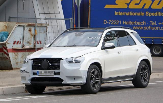 Ảnh hoàn thiện của Mercedes-Benz GLE 2019 ngay trước ngày ra mắt chính thức - Ảnh 1.