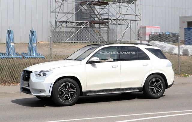 Ảnh hoàn thiện của Mercedes-Benz GLE 2019 ngay trước ngày ra mắt chính thức - Ảnh 2.