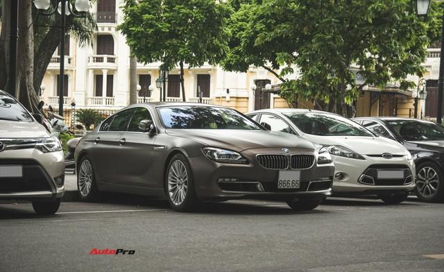 BMW 640i Gran Coupe màu lạ, biển phát lộc dạo phố Hà Thành - Ảnh 4.