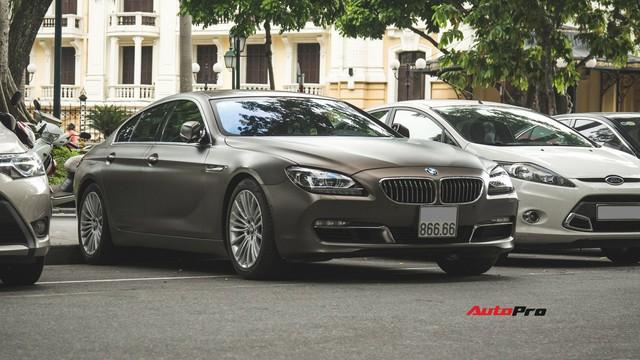 BMW 640i Gran Coupe màu lạ, biển phát lộc dạo phố Hà Thành