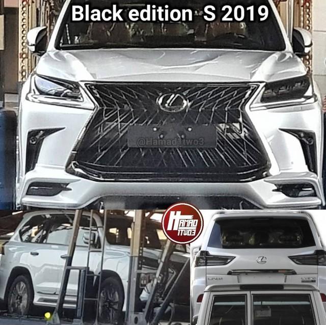 Lộ ảnh nóng Toyota Land Cruiser 2019, Lexus LX Black Edition - Ảnh 6.