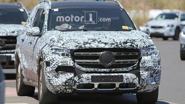 Nội thất của Mercedes-Benz GLS sắp ra mắt với màn hình siêu lớn là đây - Ảnh 3.