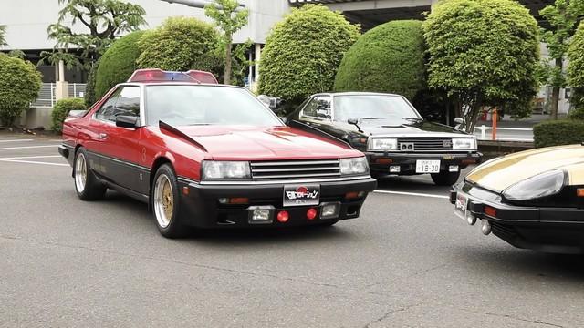 Lộ diện kho tàng xe Nissan cảnh sát cổ đầy chất chơi tại Nhật Bản - Ảnh 4.