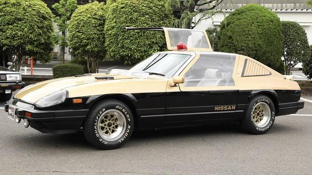 Lộ diện kho tàng xe Nissan cảnh sát cổ đầy chất chơi tại Nhật Bản - Ảnh 2.