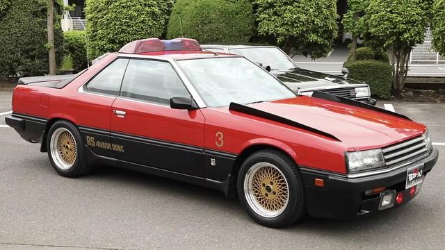 Lộ diện kho tàng xe Nissan cảnh sát cổ đầy chất chơi tại Nhật Bản - Ảnh 3.
