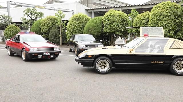 Lộ diện kho tàng xe Nissan cảnh sát cổ đầy chất chơi tại Nhật Bản