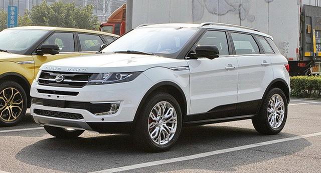 Ford Territory dùng chung khung gầm với xe nhái Range Rover của Trung Quốc - Ảnh 1.