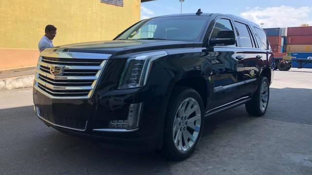 Cadillac Escalade phiên bản mới về Việt Nam có nâng cấp đáng giá từ bên trong