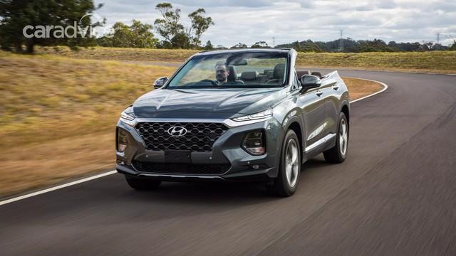 Hyundai Santa Fe mui trần bất ngờ ra mắt - Ảnh 1.