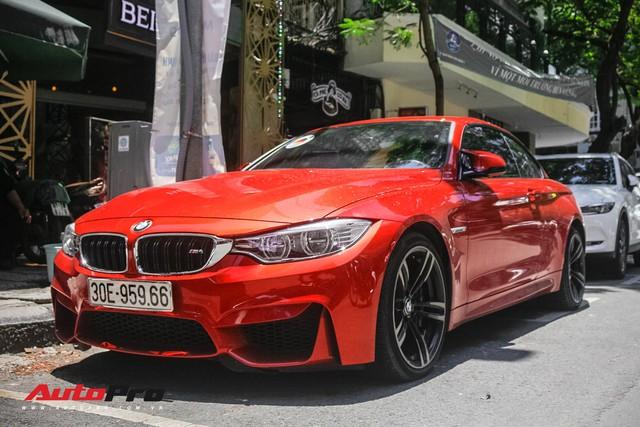 Hàng hiếm BMW M4 mui trần giá 4,2 tỷ đồng tại Sài Gòn - Ảnh 1.