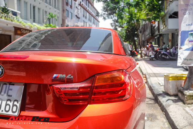 Hàng hiếm BMW M4 mui trần giá 4,2 tỷ đồng tại Sài Gòn - Ảnh 7.