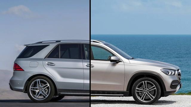 Mercedes-Benz GLE 2019 lột xác ra sao so với thế hệ đi trước?