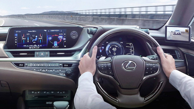 Chi tiết gương chiếu hậu điện tử trên Lexus ES sắp xuất hiện trên toàn cầu - Ảnh 4.