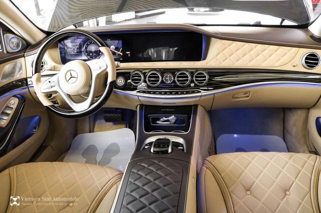 Mercedes-Maybach S 650 đầu tiên về Việt Nam, giá 14,5 tỷ đồng - Ảnh 10.