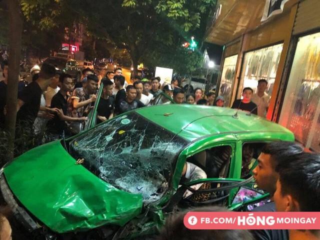 Clip về vụ tai nạn kinh hoàng, gây xôn xao tối hôm qua ở Bắc Ninh - Ảnh 4.