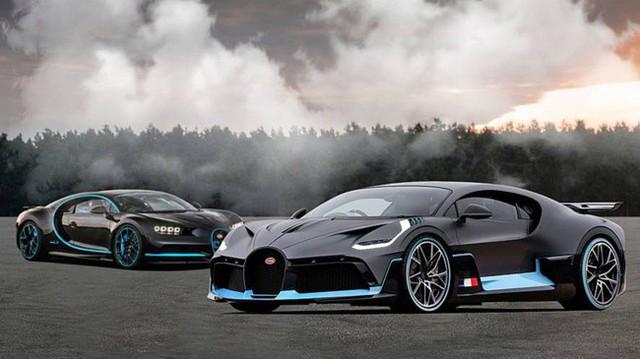 Bugatti đang phát triển thêm 3 phiên bản Chiron mới, có cả bản mui trần - Ảnh 2.