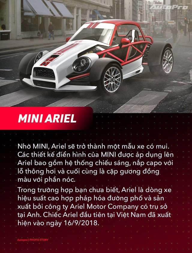 Bugatti, Porsche và McLaren sẽ ra sao nếu thuê MINI thiết kế? - Ảnh 1.