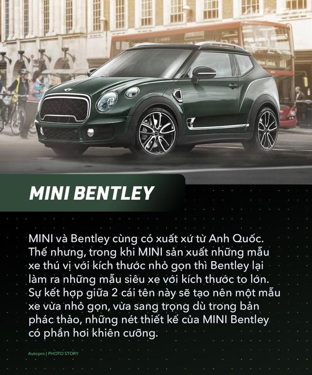 Bugatti, Porsche và McLaren sẽ ra sao nếu thuê MINI thiết kế? - Ảnh 2.
