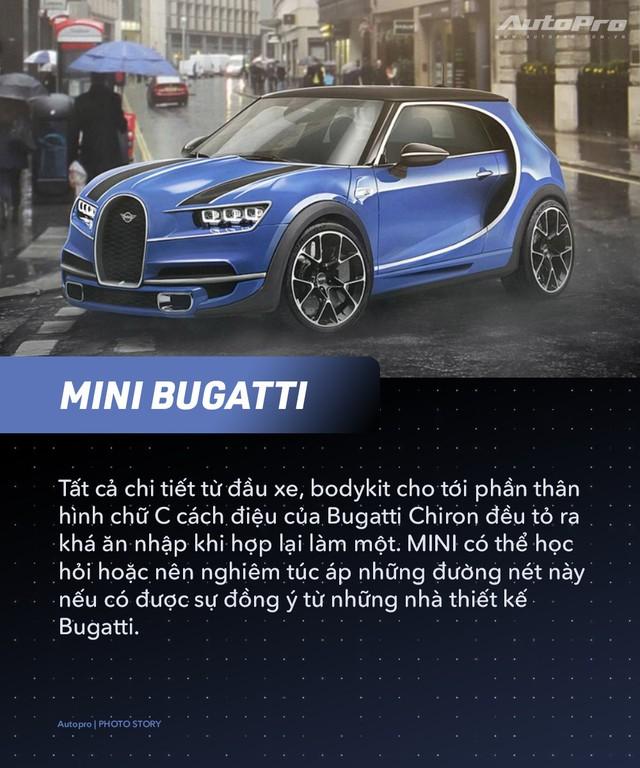 Bugatti, Porsche và McLaren sẽ ra sao nếu thuê MINI thiết kế? - Ảnh 6.